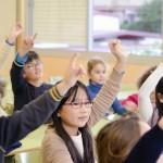 英会話スクールの留学プログラムに参加した友人の子供