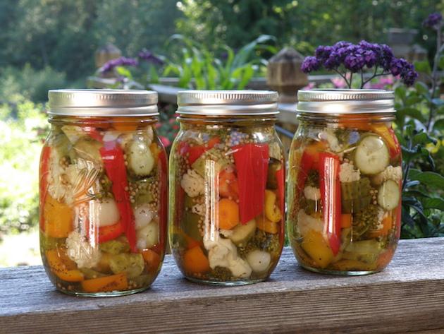 冬に向けての保存食作りに挑戦してみよう!